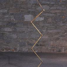 Industrial Floor Lamps by Wilkos Electric