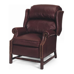 EuroLux Home - New Chair Chippendale Wood Leather No - Product Details