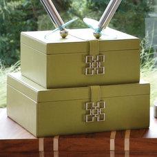 Contemporary Storage Boxes by Hayneedle