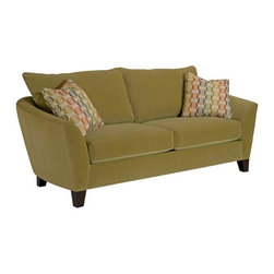 Broyhill - Taylor Contemporary Style Sofa And Loveseat - 3483-SL - Set Includes Sofa and Loveseat