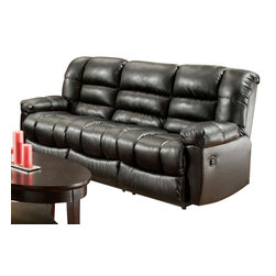 Chelsea Home Furniture - Chelsea Home Orleans Power Reclining Sofa in New Era Black - Orleans Power Reclining Sofa in New Era Black belongs to the Chelsea Home Furniture collection