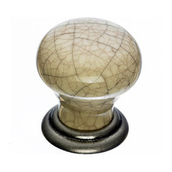 Top Knobs - Crackle Cabinet Knobs - Top Knobs item number M109 is a beautifully finished Crackle Cabinet Knob.