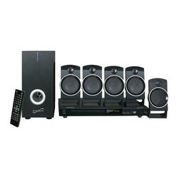 Supersonic - 5.1CH Surround Sound System - 5.1 Channel DVD Home Theater System with USB Input & Karaoke Function supports DVD/CD/VCD /SVCD/MP3/ Picture CD/ CD-R/ CD-RW  Built-in USB Input  1 Karaoke Microphone Jack  Video output CVBS/S-Video/ YPbPr  Speaker Output: 10W + 3W x 5 = 25W  Power Consumption 45W  LCD Front Display  NTSC/PAL System Compatibility  Supports Different Language Sound Tracks and Language Captions/ 32 Subtitles  Multi-Angle Viewing with Digital Zoom Support  Intelligent Firmware Upgrading  Multi-Level Fast Forward and Backward Scan  Programmed and Memory Playback  Compatible with All Disc Zone (Multi-Zone)  Multi Languages OSD  Power Supply: AC 110V  60Hz  Remote Control and AV cables included.  This item cannot be shipped to APO/FPO addresses. Please accept our apologies.