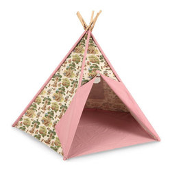 Pacific Play Tents - Teddy Bear Tee Pee - Dimensions: 45 in X 45 in X 56 in high