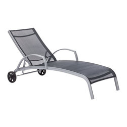 Zuo Modern - Zuo Modern Casam Outdoor Lounge X-670307 - Sleek and modern, lounge in style with the Casam Lounge Chair. The frame is made of aluminum and the cover is textile, a very durable polyester fiber mix that withstands UV rays and water.