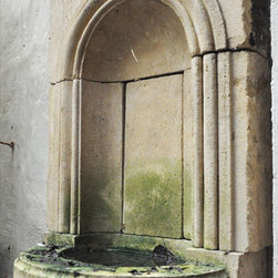 Garden Wall stone Fountain - Image by 'Ancient Surfaces'