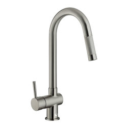 VIGO Industries - VIGO Stainless Steel Pull-Out Kitchen Faucet - Improve the look of your kitchen by adding a stylish and durable VIGO faucet.