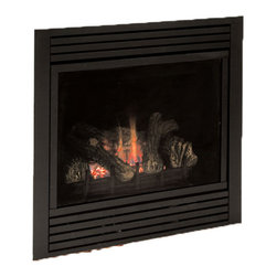 Majestic Products - Majestic CDVR36NV7 CDV Series Direct Vent Gas Fireplace - The Majestic CDVR36NV7 CDV Series Direct Vent Gas Fireplace is part of Majestic's full line of products to complete your fireplace or stove. The CDV Series from Majestic model CDVR36NV7 features an exclusive full-featured command center and touchscreen, a Natural Flame Burner System with aluminized pan burner, and custom style accessories to help you create a unique look for any room. This model features Natural Gas operation for easy installation, and it has a heating capacity of up to 610 square feet of room. Majestic has been serving in the production of quality fireplaces, stoves, log sets, and outdoor accessories for over 50 years, and offer a wide range of beautiful styles, sizes, and trims.