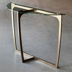 Fontana Console Table by Charleston Forge - Dimensions: (width x depth x height or thickness)