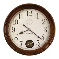 "Howard Miller - Howard Miller Cherry Large 32"" Wall Clock | AUBURN - 620484 AUBURN"