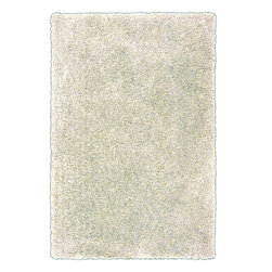 Surya - Plush Goddess 2'x3' Rectangle Winter White Area Rug - The Goddess area rug Collection offers an affordable assortment of Plush stylings. Goddess features a blend of natural Winter White color. Handmade of 100% Polyester the Goddess Collection is an intriguing compliment to any decor.