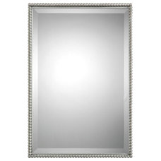 Rejuvenation | Beaded Rectangle Mirror