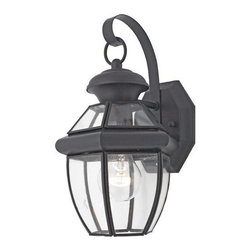 """Quoizel - Quoizel QF1654 1 Light 12.5""""x 7"""" Outdoor Wall Sconce - Features:"""