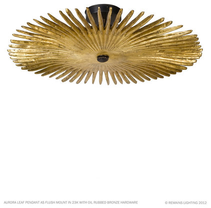 Eclectic Ceiling Lighting by Remains Lighting
