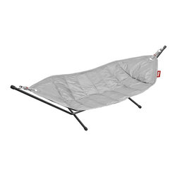 Fatboy - Headdemock in Light Grey - Includes a freestanding frame for indoor or outdoor use
