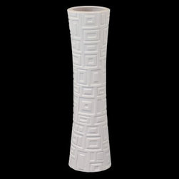 Urban Trends Ceramic Vase - White - About Urban Trends Collection:Urban Trends Collection is a leading home décor and decorative home accessories company. They specialize in the latest home furnishings, decorative home accessories, accent pieces, and garden accessories. Urban Trends is a global company that provides quality, reasonably priced home decor to their customers. They deal extensively in decorative home accessories items crafted in Spain, China, India, Turkey, and the Philippines. Urban Trends works with the best artisans and craftspeople as well as only quality manufacturers and reputable factories.