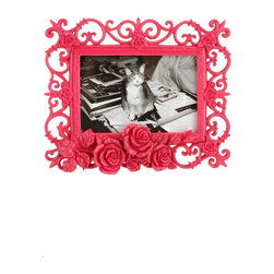 Ornate Rose Frame - I think this frame would be perfect for a beautiful black and white photo. I love the details and the price!