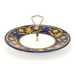 Artistica - Hand Made in Italy - Principato: Tid-Bit Plate - Artistica's Exclusive!