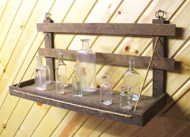 Eclectic Display And Wall Shelves  by Vernon County Creations