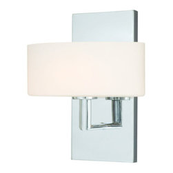 Vaxcel Lighting - Vaxcel Lighting W0001 Allerton 1 Light Halogen Bathroom Sconce - Features: