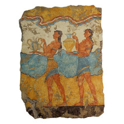Greek Frescoes (Knossos Collection) - The Gift Bearers