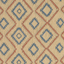 P4697-Sample - This southwest chenille upholstery fabric is great for all indoor upholstery applications. This material is uniquely soft and durable. Any piece of furniture will look great upholstered in this material!