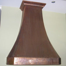 Traditional Kitchen Hoods And Vents by The Metal Peddler