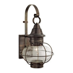 Norwell Lighting - Norwell Lighting 1609 1 Light Outdoor Wall Sconce from the New Vidalia Onion Col - Traditional / Classic 1 Light Outdoor Wall Sconce from the New Vidalia Onion CollectionFeatures:
