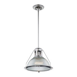 Quoizel - Quoizel QZ-QPP1198-C Keaton Transitional Pendant Light - Quoizel piccolo pendants come in a variety of styles, finishes and materials to suit any home decor.  Choose from fabric, metal or even one of our Quoizel Naturals shades, with bamboo, onyx or agate stone, to name a few.  Look to our piccolo pendants to add the finishing touch to your home�۪s style.