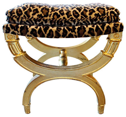 Eclectic Upholstered Benches by Lawson-Fenning