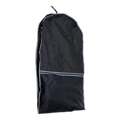 Florida Brands - Florida Brands Lightweight Nylon Travel Suit Bag - Roomy front pockets for storing shoes and other accessories