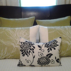 Bed cushions -