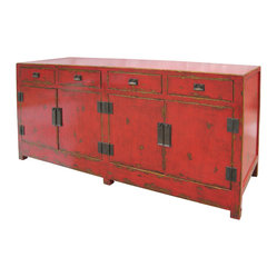 Shanxi Sideboard 4 Door/4 Drawer