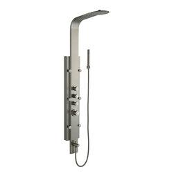 VIGO Industries - VIGO Shower Massage Panel System with Rain Shower Head plus Hand Shower & Tub Sp - Invigorate your senses with this VIGO Shower Massage Panel with Rain Shower Head, Hand Shower and Tub Spout.