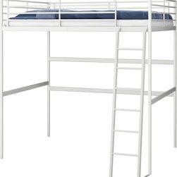 Tord Björklund - TROMSÖ Loft bed frame - Loft bed frame, white