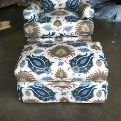 Chair Upholstery & Ottomans - A&B Upholstery