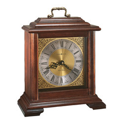 Howard Miller - Howard Miller Classic English Bracket Dual Chime Mantel Clock | MEDFORD - 612481 MEDFORD