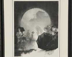 Henri Patrice Dillon, Memories, Lithograph - Artist:  Henri Patrice Dillon, American (1851 - 1909)