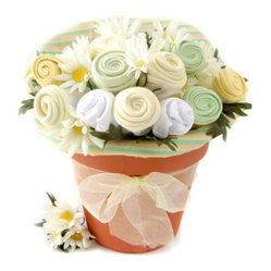 Nikki's Baby Blossom Clothing Gift Bouquet - Neutral