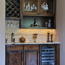 Traditional Wine Cellar by Lars Remodeling & Design