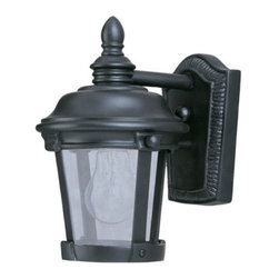 Maxim Lighting - Dover VX Outdoor Wall Sconce by Maxim Lighting - The best option for long-lasting UV protection, the Maxim Lighting Dover VX Outdoor Wall Sconce features a Vivex construction able to withstand the most extreme climates as well as endure years of sun exposure. Tested at temperatures ranging from -20 degrees to 130 de Maxim Lighting, headquartered in California, offers high-quality lighting fixtures in a variety of designs, finishes, and glass styles that complement contemporary and transitional interiors.