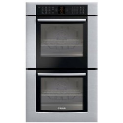 """Bosch : HBL8650UC 30"""" Double Wall Oven - Stainless steel electric wall oven by Bosch."""