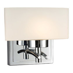 ELK Lighting - ELK Lighting 17080/1 Eastbrook 1 Light Bathroom Vanity Lights in Polished Chrome - This 1 light Vanity from the Eastbrook collection by ELK will enhance your home with a perfect mix of form and function. The features include a Polished Chrome finish applied by experts. This item qualifies for free shipping!