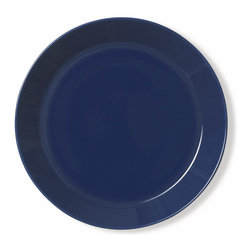 Iittala - Teeme Dinner Plate, Blue - Classic ceramic dinner plates never go out of style. This modern take on the plate would be a lovely addition to any home. A set of these would be the perfect housewarming gift for a young couple just building a life together.