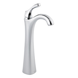 Delta - Delta 792-DST Addison Single Handle Centerset Bathroom Faucet with Riser and Dia - Delta 792-DST Addison Single Handle Centerset Bathroom Faucet with Riser and Diamond Seal Technology in ChromeInspired by the delicate scallops of a seashell, Addison brings a fresh new look to the bath.  Getting ready in the morning is far from routine when you are surrounded by a bath that reflects your personal style.  Delta's exclusive DIAMOND™  Seal Technology uses a valve with a tough diamond coating to bring you a faucet built to last up to five million uses.  Plus, it keeps water inside the faucet out of contact with potential metal contaminants. With its durable components and simple construction, a DIAMOND™ Seal Technology faucet lasts 10 times longer than the industry standard.   Multiple finish options add to the collection's appeal and design suitability.  The Addison Collection is available in a full suite of products to provide a coordinated look to your bath.Delta 792-DST Addison Single Handle Centerset Bathroom Faucet with Riser and Diamond Seal Technology in Chrome, Features:• Diamonds are the hardest substance known to man, and DIAMOND™ Seal Technology takes full advantage of this property. Delta's exclusive DIAMOND™ Seal Technology uses a valve with a tough diamond coating to bring you a faucet built to last up to 5 million uses – plus it keeps water inside the faucet out of contact with potential metal contaminants.
