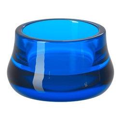 Chris Martin - STRÄNGNÄS Candle holder - Candle holder, blue