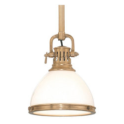 "Hudson Valley Lighting - Hudson Valley Lighting Randolph Transitional Mini Pendant Light X-BH-1262 - Overall height measurement includes (1) 3"", (1) 6"", (1) 12"", (2) 18"" stems and hang straight canopy."