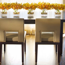 modern dining chairs by Jamie Herzlinger