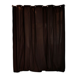 RoomDividersNow - Tension Rod Room Divider Kit, Black, 8'h X 10'w - Looking for a great way to divide a room, create privacy, or hide clutter? Tension rod room divider kits present a creative and sleek way to divide space within minutes. Tension rod kits come with everything needed to create and separate spaces up to 10 feet wide. Whether you live in a shared bedroom, studio, dorm, or apartment, our top quality room divider kits can separate and compliment your space with ease.