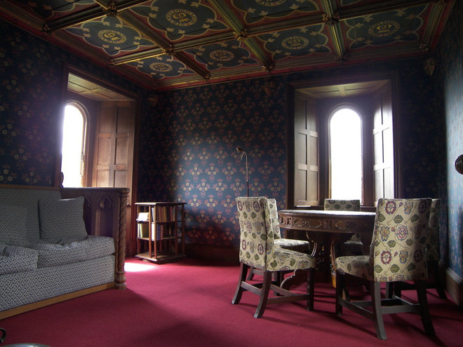 Living room in Helen's Tower